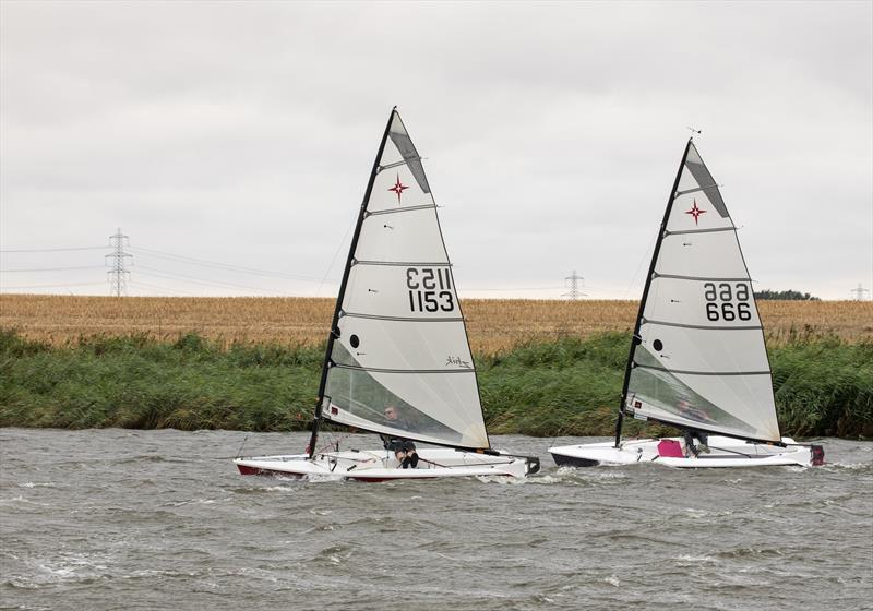 Norfolk Week 2018 photo copyright Mark Pogmore taken at Ouse Amateur Sailing Club and featuring the Supernova class