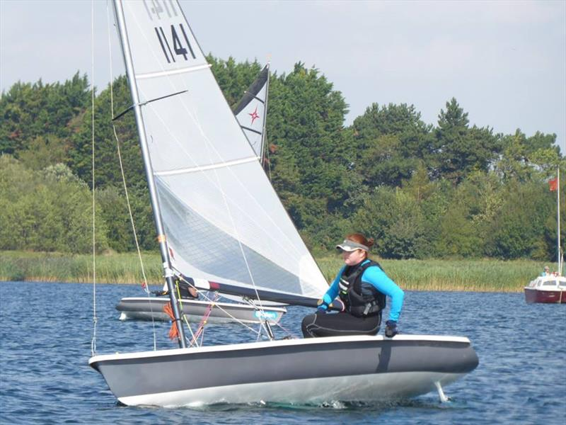 Ellen Clancy photo copyright Douglas Roberts taken at Bowmoor Sailing Club and featuring the Supernova class