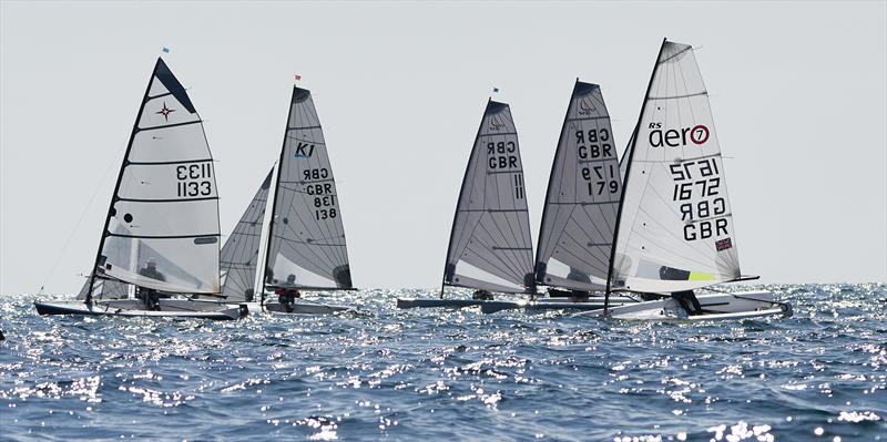2019 POSH - Paignton Open for Single Handers photo copyright Steve Cayley taken at Paignton Sailing Club and featuring the Supernova class
