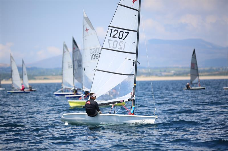Sam Knight wins the Supernova National Championships 2018 photo copyright Jon Worthington taken at Plas Heli Welsh National Sailing Academy and featuring the Supernova class