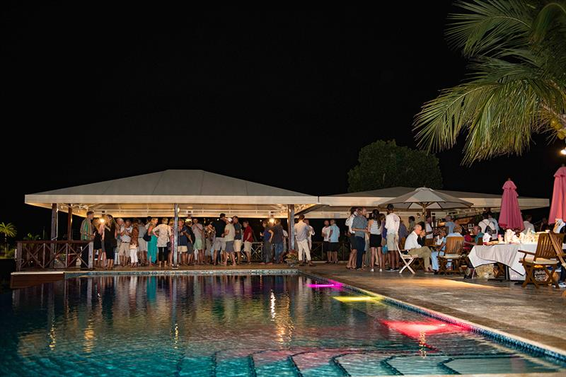 Welcome Cocktail Party at the Gunpowder House Boom Restaurant - Superyacht Challenge Antigua 2018 - photo © Ted Martin