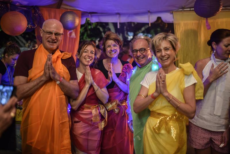 The famous Cook Off fancy dress theme was Diwali, the Hindu festival of lights - Superyacht Challenge Antigua 2018 - photo © Ted Martin