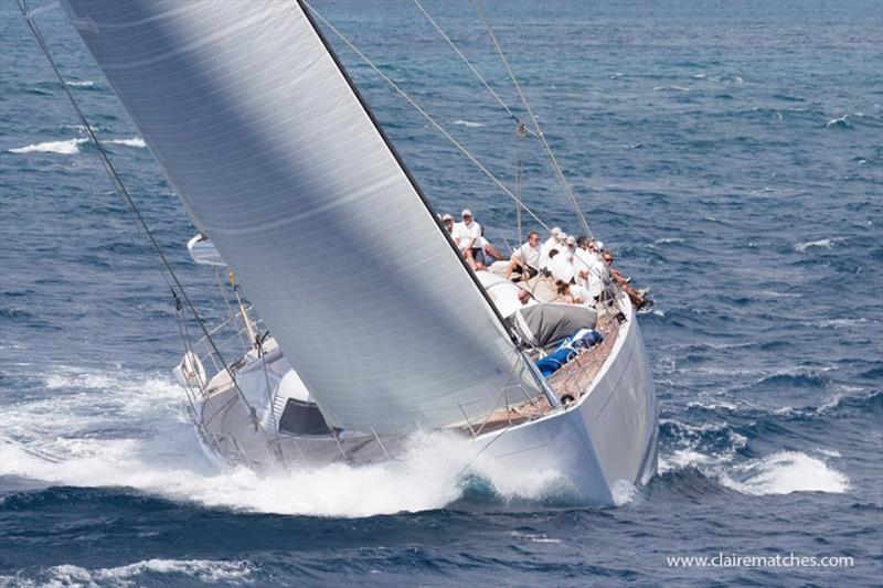 The 112ft German Frers sloop Spiip - photo © Claire Matches / www.clairematches.com