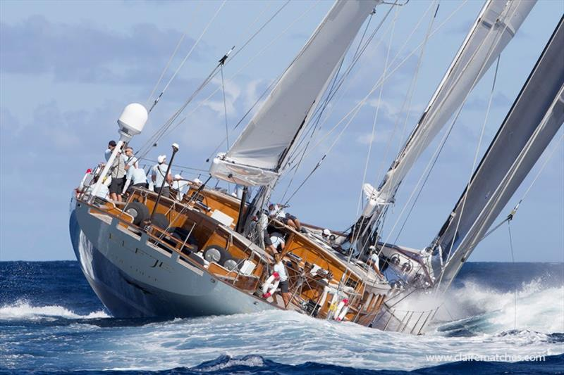 The 172ft Hoek ketch Elfje - photo © Claire Matches / www.clairematches.com