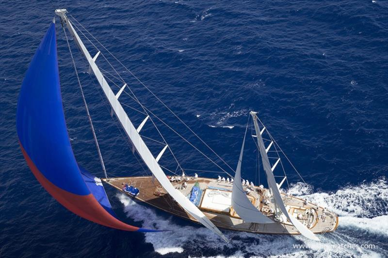 The fleet assembled for 2019 Superyacht Challenge Antigua