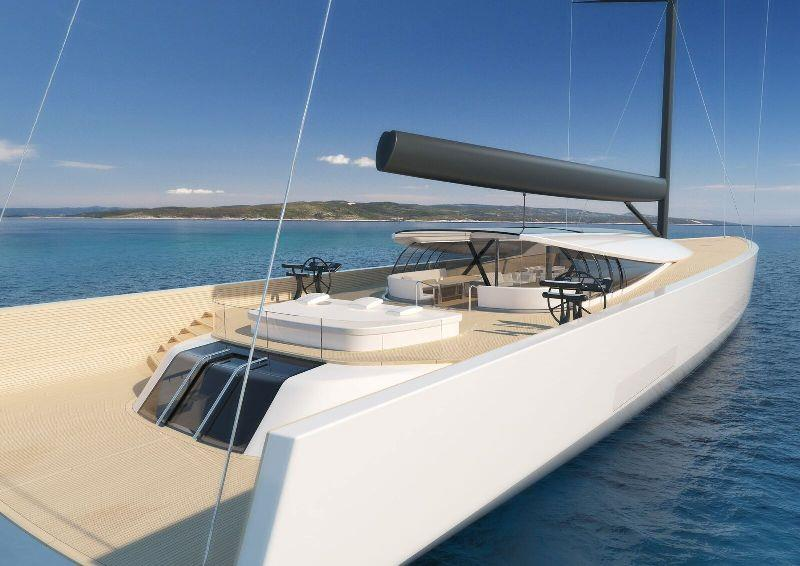 SY200 superyacht concept photo copyright Philippe Briand taken at  and featuring the Superyacht class