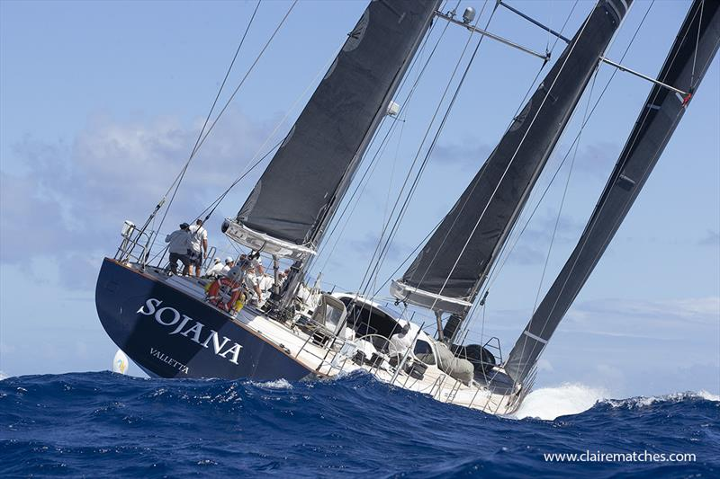 2020 Superyacht Challenge Antigua, Final Day - photo © Claire Matches / www.clairematches.com