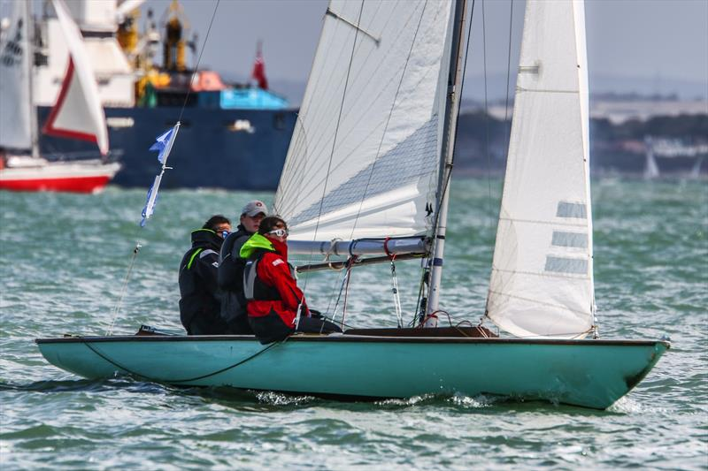 Echo racing as part of the Swallow fleet on day 3 of Lendy Cowes Week 2017 - photo © Tom Gruitt / CWL