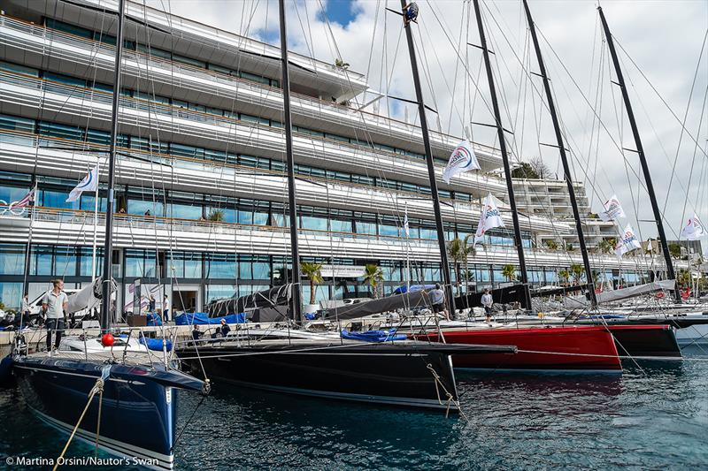 2019 Monaco Swan One Design Regatta photo copyright Martina Orsini taken at Yacht Club de Monaco and featuring the Swan class
