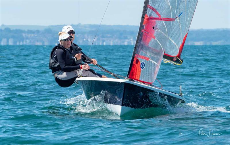 Tasar Worlds at Hayling Island day 3 - photo © Peter Hickson