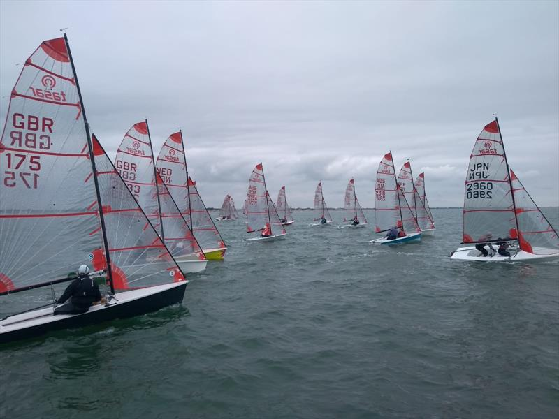 Tasar Worlds at Hayling Island day 6 - photo © HISC committee boat