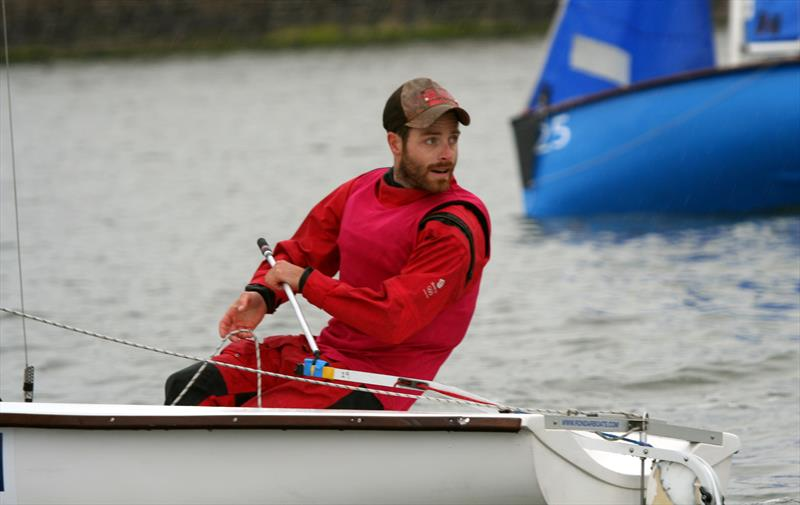 London 2012 470 silver medallist Luke Patience on day 1 of the Wilson Trophy - photo © ACM Jenkins / Wilson Trophy