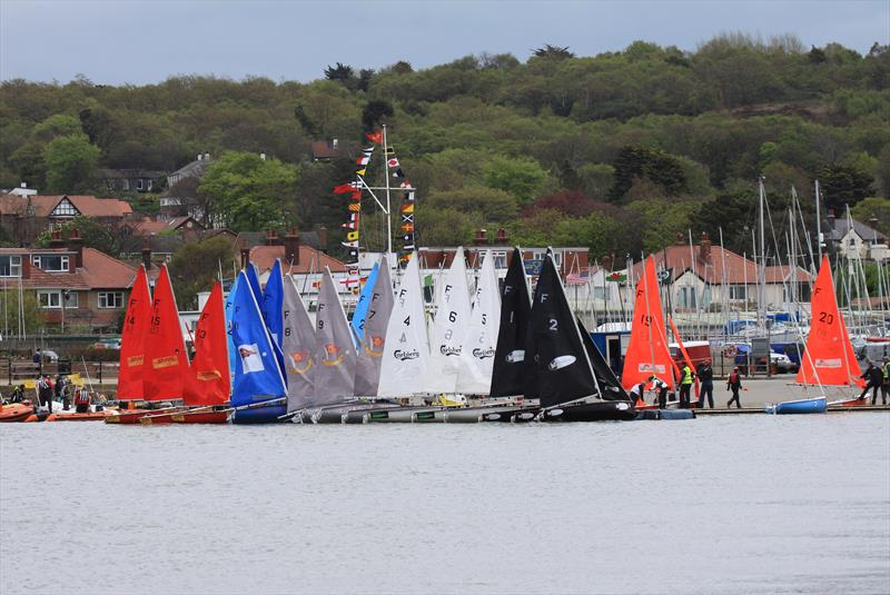 Fireflys on the dock on day 3 of the Wilson Trophy - photo © ACM Jenkins / Wilson Trophy