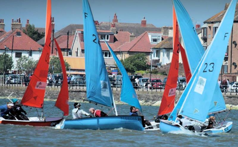 Racing could not have been closer at the 68th Wilson Trophy photo copyright Alan Jenkins taken at West Kirby Sailing Club and featuring the Team Racing class