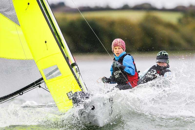 RYA Eric Twiname Youth and Junior Team Racing Championship - photo © Paul Wyeth / RYA