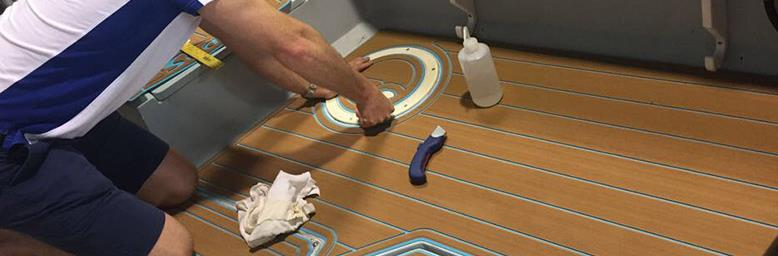 SeaDek - the ultimate self-adhesive deck foam - photo © TMS