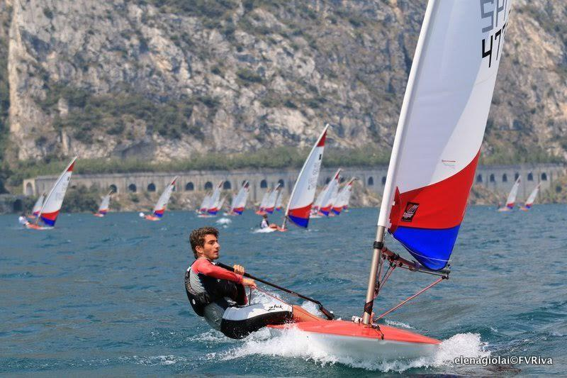 Day 1 of the Topper World Championships 2015 - photo © Elena Giolai / Fraglia Vela Riva