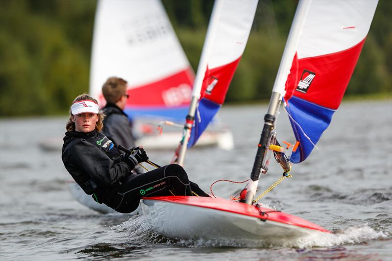 Coco Barrett at the RYA Zone Championships - South east area - photo © Paul Wyeth / RYA