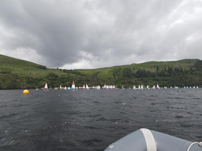Brown Cup Scottish Schools Championships at Loch Earn - photo © Roger Wallace