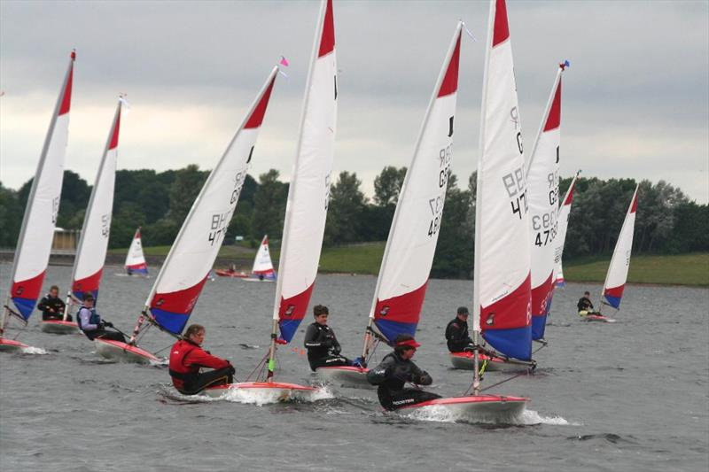 Topper National Series 5 at Draycote Water - photo © Angela Donnelly