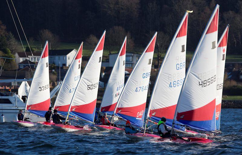 RYA Scotland Winter Championships at Largs - photo © Marc Turner