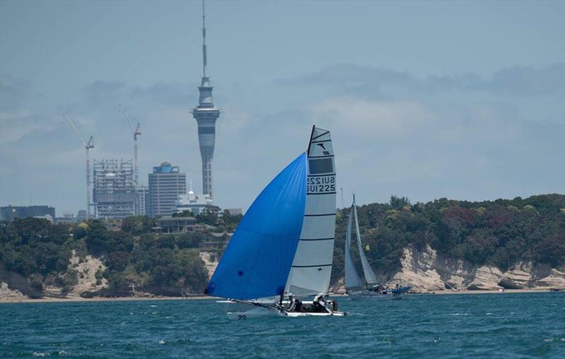 Racing in the NZ Tornado Nationals presented by Candida Stationery - January 2019 - photo © Int. Tornado Assoc