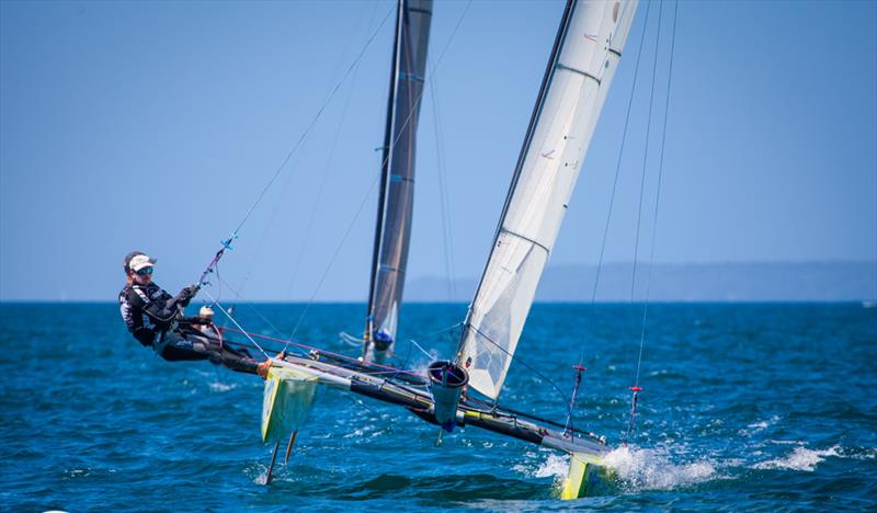 Day 1, Int Tornado Class 2019 World Championship presented by Candida, Takapuna Boating Club, January 5, 2019 - photo © Suellen Davies