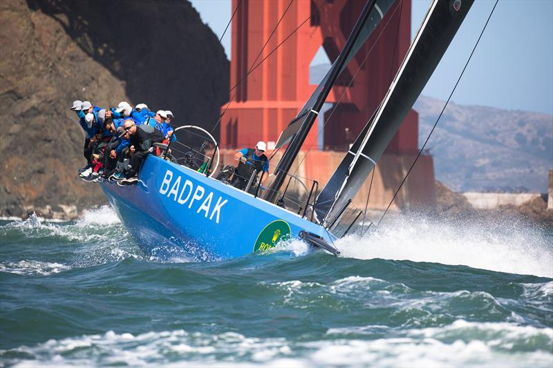 Action from the Rolex Big Boat Series  - photo © Sharon Green / Rolex
