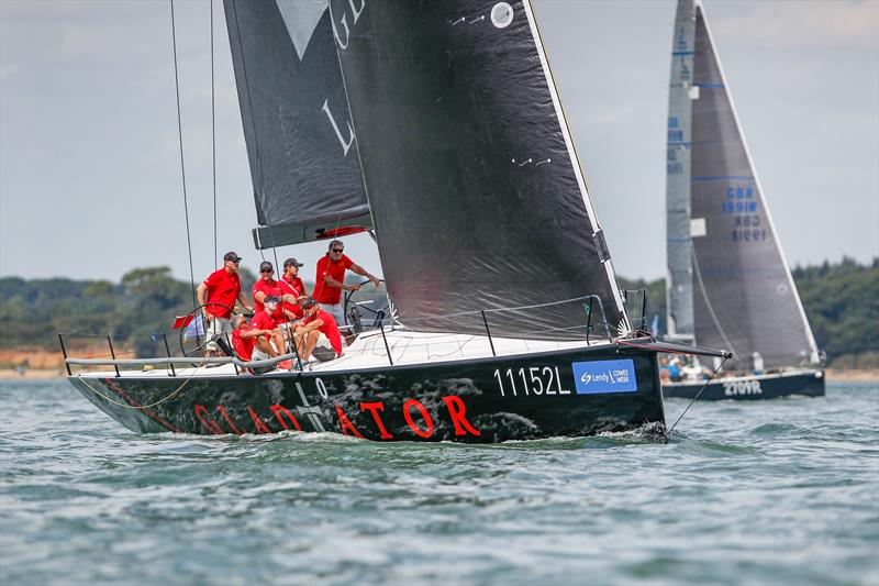 Gladiator in action at Lendy Cowes Week - photo © Paul Wyeth / CWL