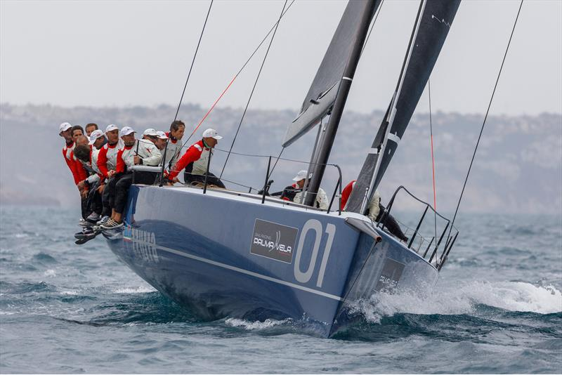 Azzurra - 1st TP52 on day 2 at Sail Racing PalmaVela - photo © Sail Racing PalmaVela /