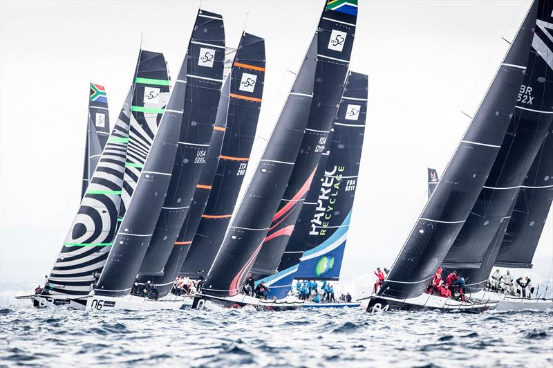 TP52 fleet on day 3 at Sail Racing PalmaVela - photo © Sail Racing PalmaVela / Maria Muina