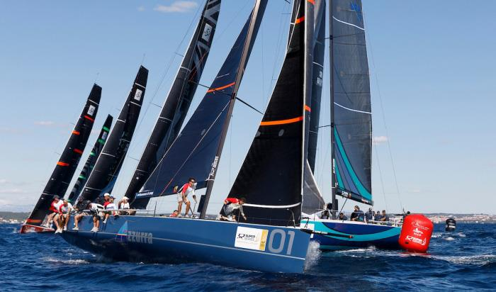 Azzurra - Zadar Royal Cup - 52 Super Series - photo © Martinez Studio