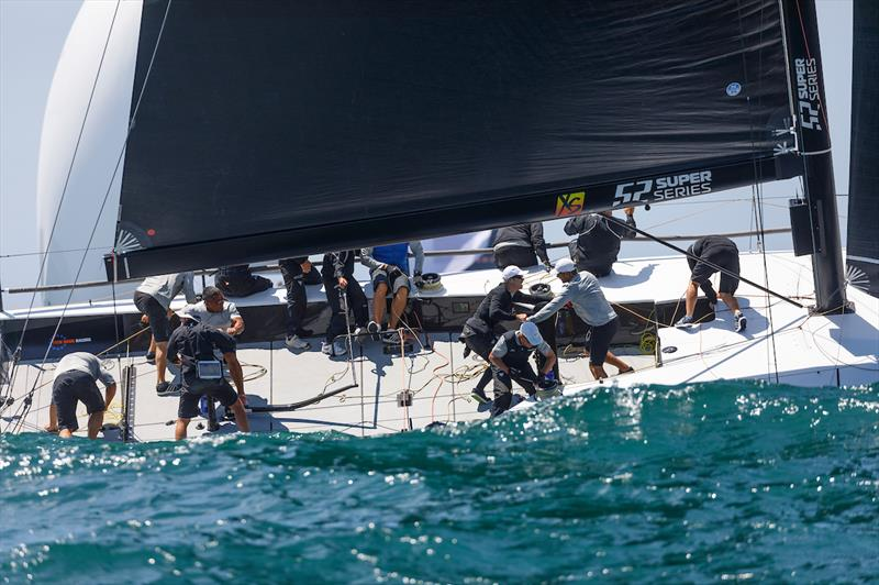 Rolex TP52 World Championship Coastal Race on day 3 - photo © Nico Martinez / www.MartinezStudio.es