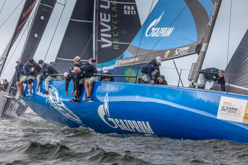 TP52 racecourse action at the 52 Super Series Cape Town event, March 2-6, 2020 - photo © Image courtesy of 52 Super Series