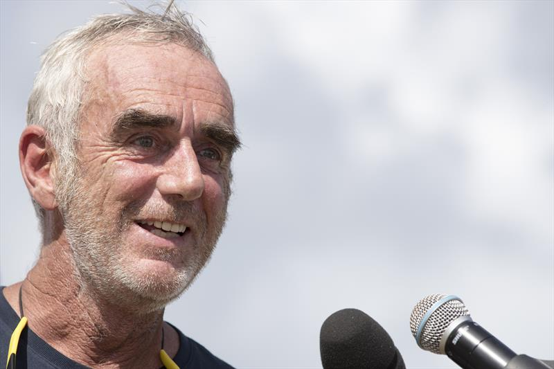 "Route du Rhum-Destination Guadeloupe - Peyron: ""It was long and a bit tougher than I expected. I am glad it is over"