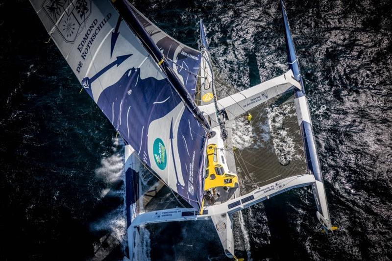 Maxi Edmond de Rothschild: La Route du Rhum photo copyright Eloi Stichelbaut / Gitana S.A. taken at  and featuring the Trimaran class