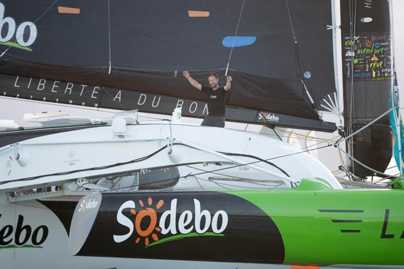 Coville finished third despite having to stop for repairs in La Coruna after damage to the boat - Route du Rhum-Destination Guadeloupe - photo © Alexis Courcoux