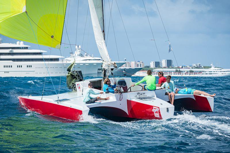 Tryst in the Caribbean Multihull Challenge - photo © Laurens Morel / www.saltycolours.com