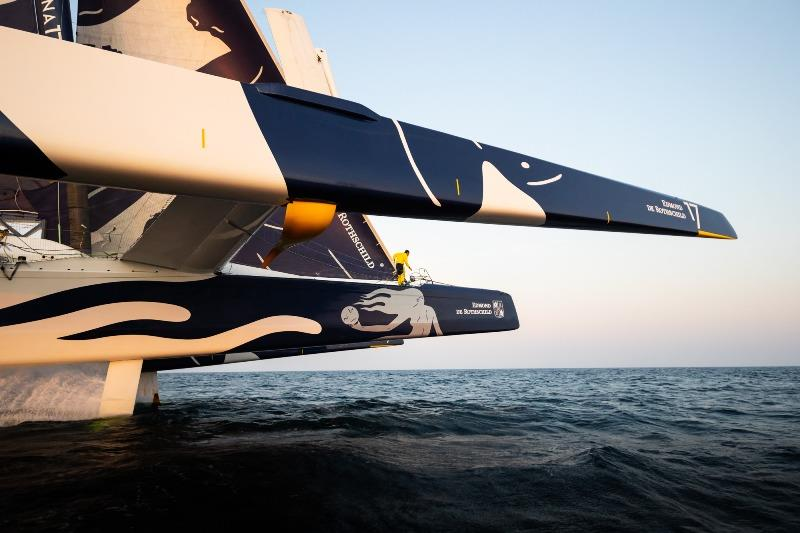 Jules Verne Trophy: Maxi Edmond de Rothschild 40 days away from the start of stand-by