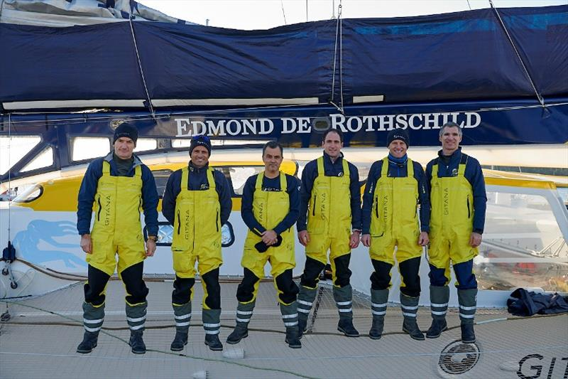 Take Off Imminent For The Maxi Edmond De Rothschild In The Jules Verne Trophy