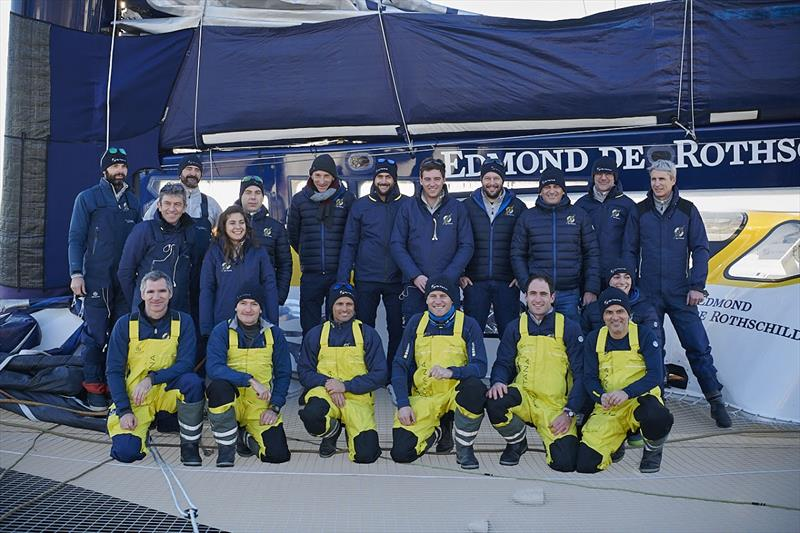 Jules Verne Trophy - photo © Y.Zedda / Gitana S.A