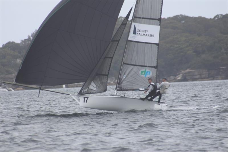 Outstanding champions - Sydney Sailmakers crew - 12ft Skiff Interdominion Championship 2019 photo copyright John Williams taken at Sydney Flying Squadron and featuring the 12ft Skiff class