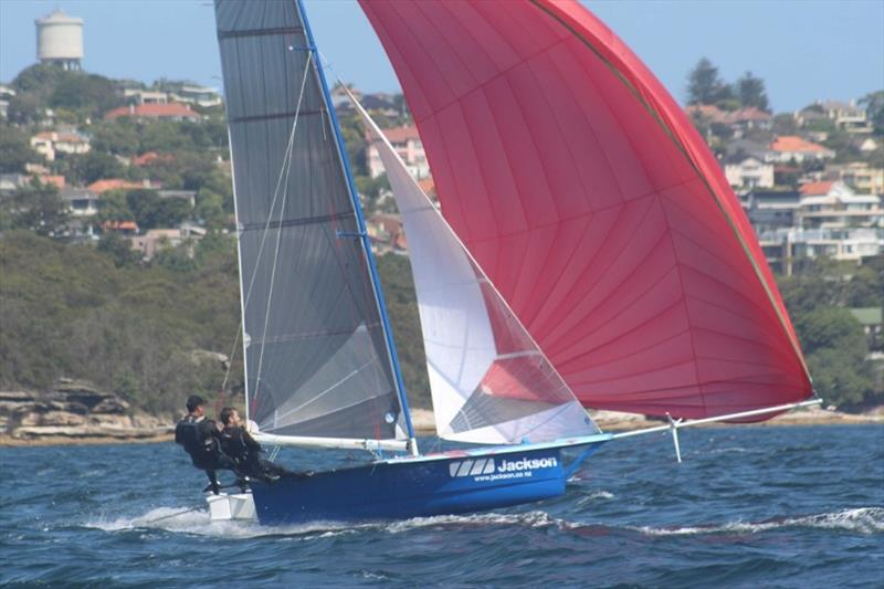 Jackson Electrical - Best Kiwi boat in third overall - 12ft Skiff Interdominion Championship 2019 - photo © John Williams