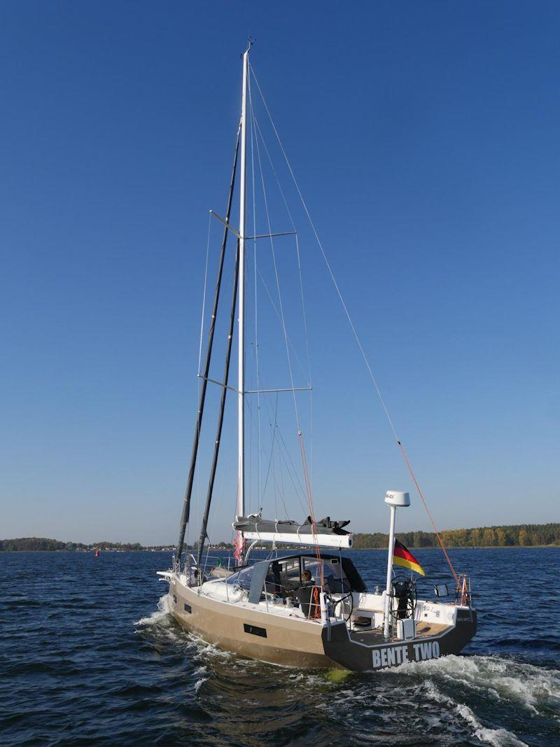 Mast and rigging supplied by upffront.com on the Bente 39 - photo © Bente Yachts