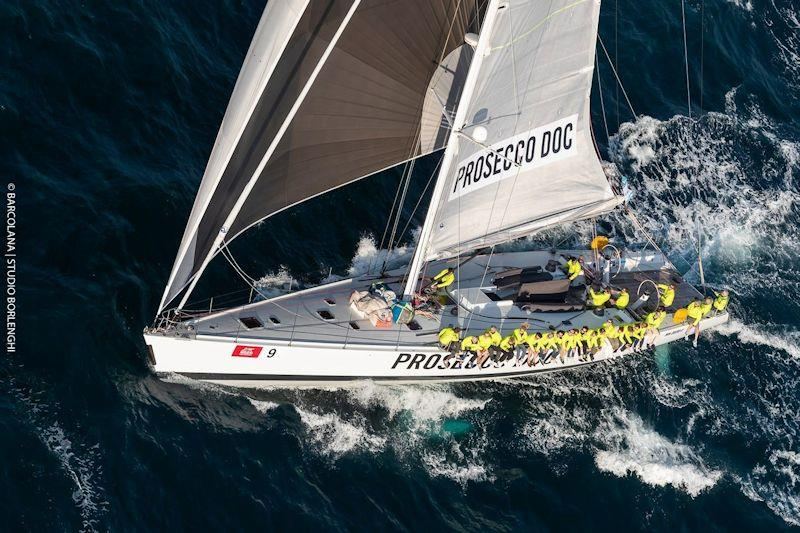 A Bamar EVO 20 drum was deliberately under-specified on this 80ft race yacht  to test the furler's limits - photo © Studio Borlenghi