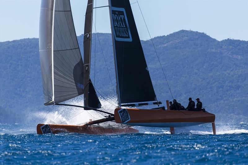 The Boat Works finished second - best of the Extremes - 2019 Airlie Beach Race Week - photo © Andrea Francolini