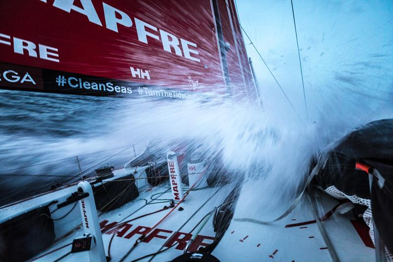 On board MAPFRE during Volvo Ocean Race Leg 2: Lisbon to Cape Town photo copyright Ugo Fonolla / Volvo Ocean Race taken at  and featuring the Volvo One-Design class