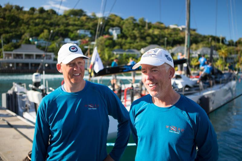 Brothers David & Peter Askew (USA) racing their Volvo 70 Wizard have taken Monohull Line Honours in the 2019 RORC Caribbean 600 in the RORC Caribbean 600 - photo © Arthur Daniel / RORC