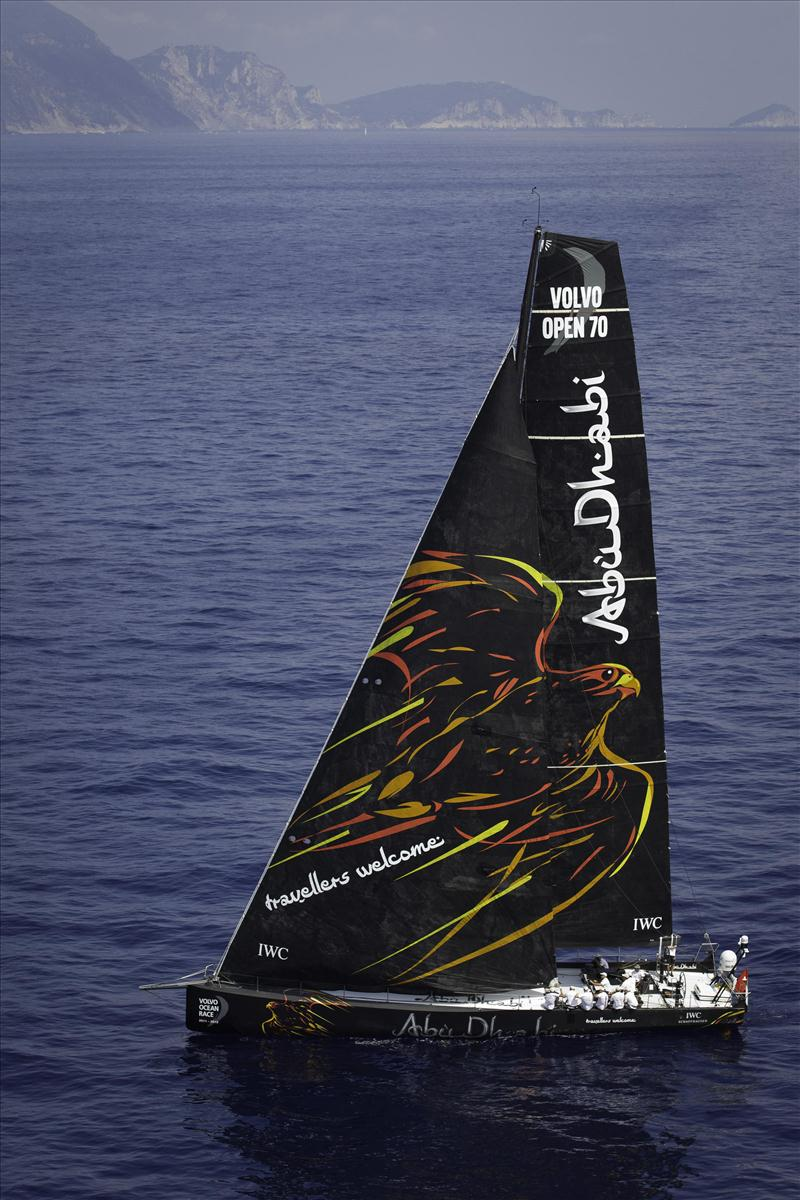 Abu Dhabi Ocean Racing's new Volvo Open 70