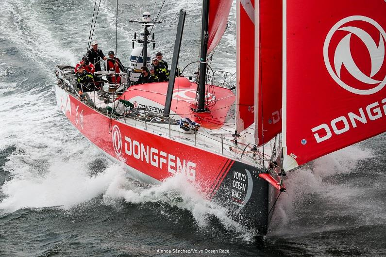 Second place on Leg 3 moves Dongfeng Race Team to second overall in Volvo Ocean Race
